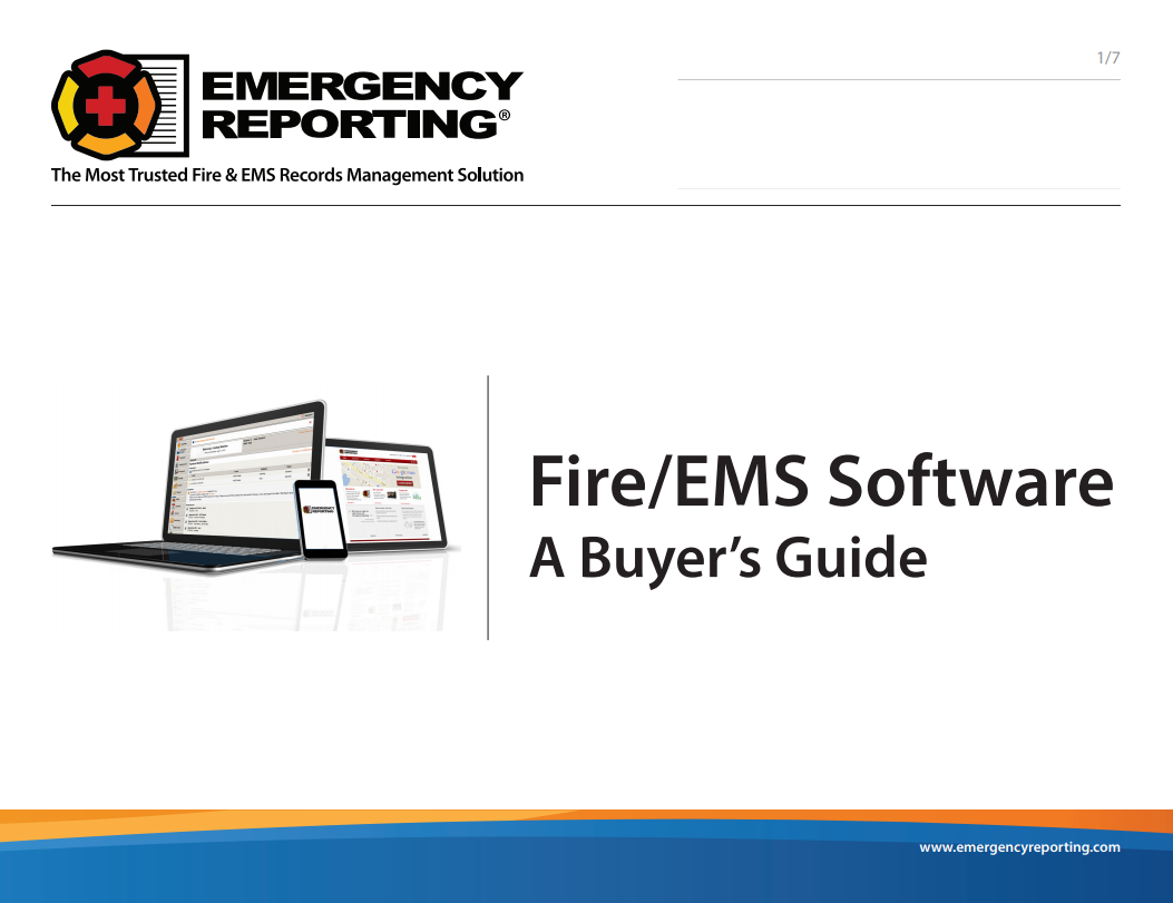 Download our free Fire/EMS Software Buyer's Guide