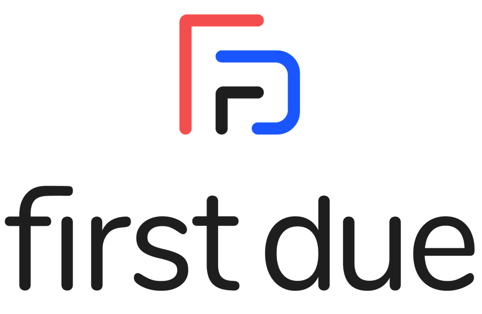 first due color logo